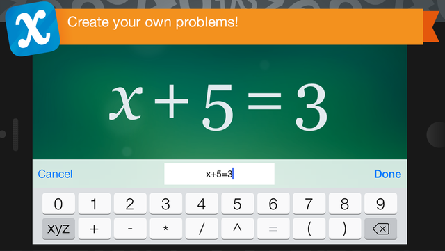 Algebra Touch screenshot 4