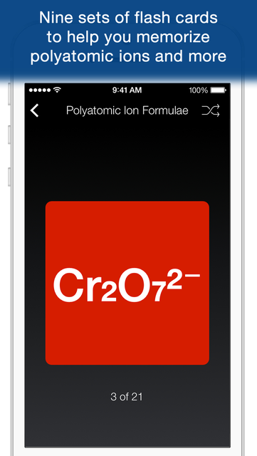 Chem Pro: Chemistry Tutor in Your Pocket screenshot 3