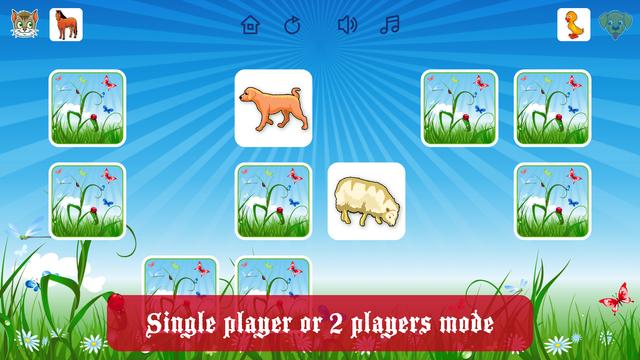 Farm Flip Fun – Match Animals screenshot 1