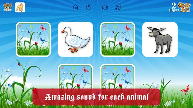 Farm Flip Fun – Match Animals screenshot 2