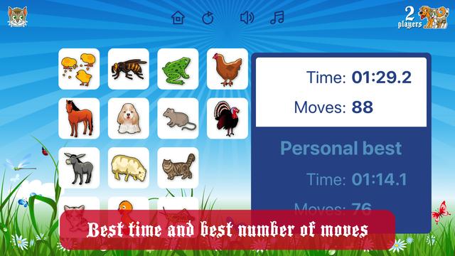 Farm Flip Fun – Match Animals screenshot 3