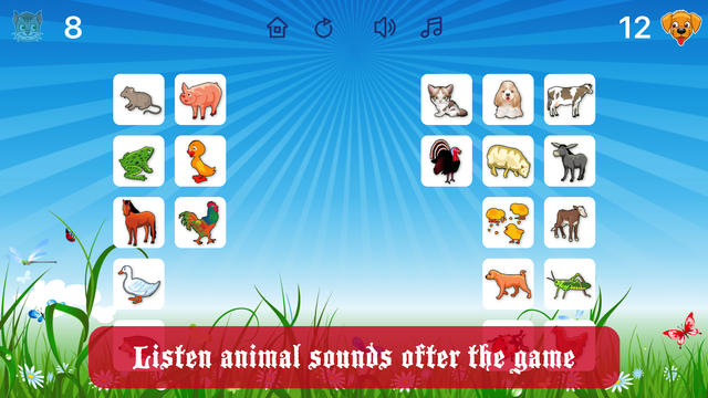 Farm Flip Fun – Match Animals screenshot 4