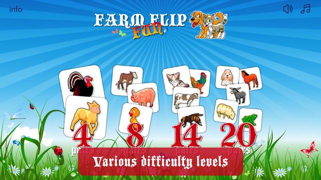 Farm Flip Fun – Match Animals screenshot 5