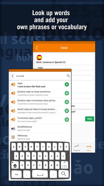 Learn Spanish - MosaLingua screenshot 5