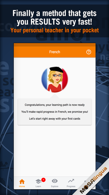 Learn French - MosaLingua screenshot 1