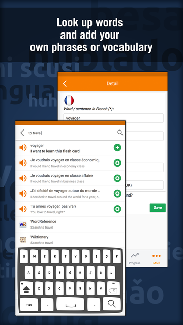 Learn French - MosaLingua screenshot 5