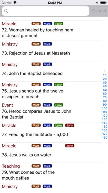 Gospel Harmony screenshot 1