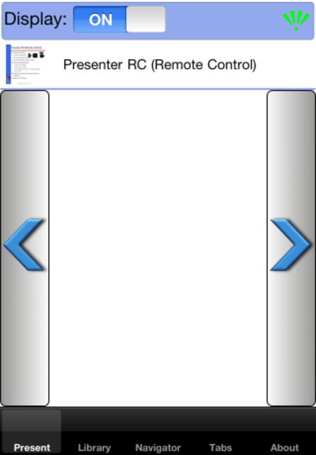 Presenter RC screenshot 2