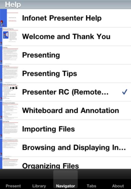 Presenter RC screenshot 4