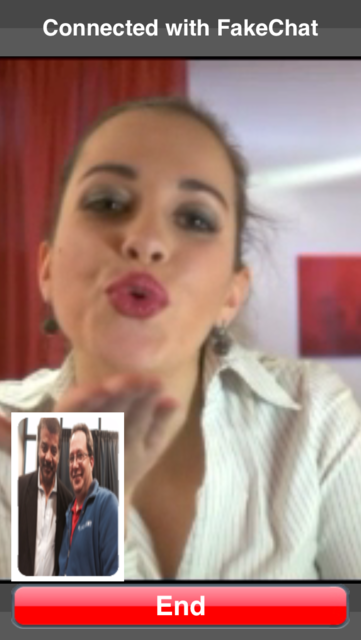 FAKECHAT Funny Video Chats screenshot 1