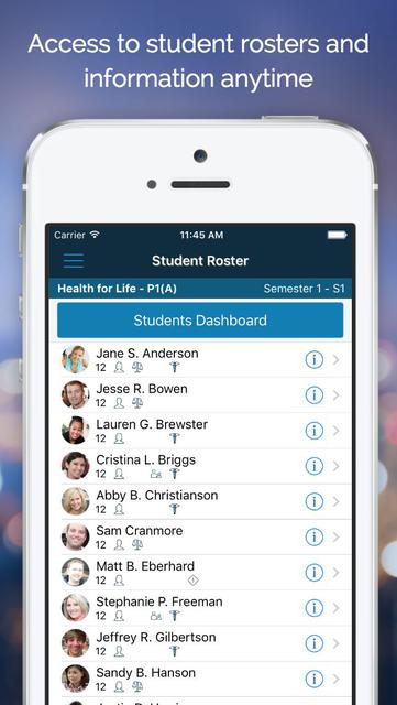PowerTeacher Mobile screenshot 2