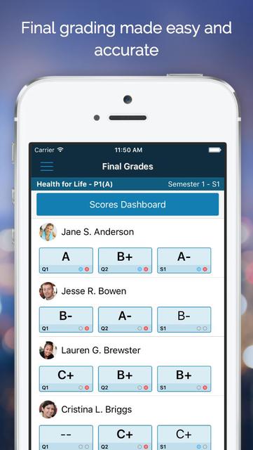 PowerTeacher Mobile screenshot 5