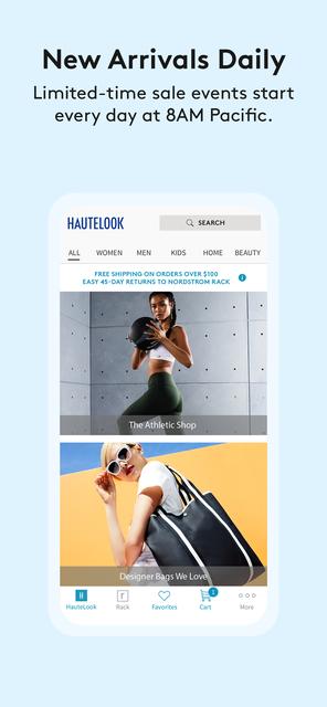 HauteLook | Nordstrom Rack screenshot 2