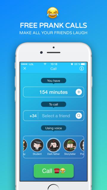 Funny Call: Phone Prank Calls screenshot 1