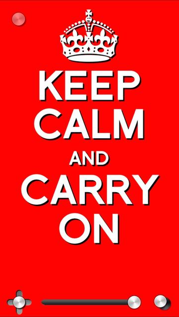 Keep Calm & Carry On:Original screenshot 5