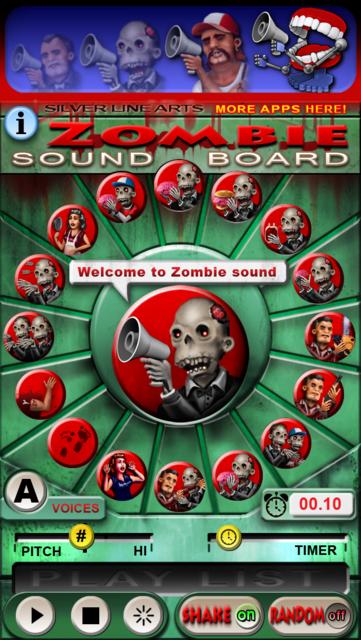 Zombie Sound Board screenshot 1