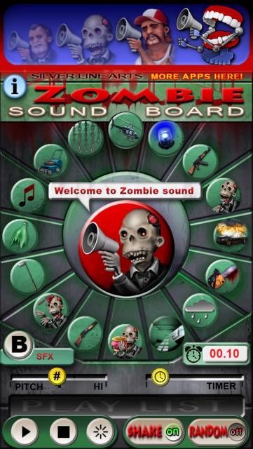 Zombie Sound Board screenshot 2