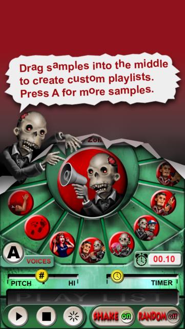 Zombie Sound Board screenshot 3