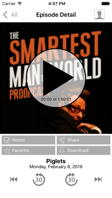 Proopcast with Greg Proops screenshot 1