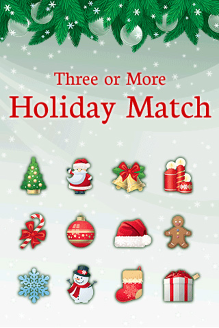 Three or More: Holiday Match screenshot 1