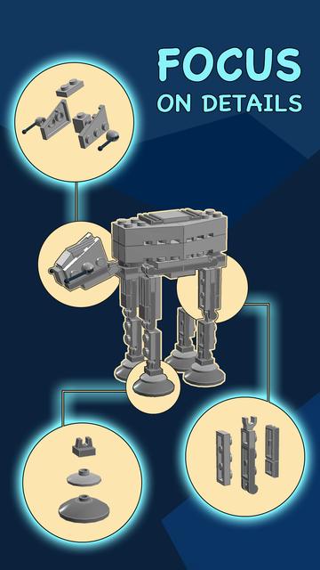 Mega Bricks: create cool toys screenshot 1