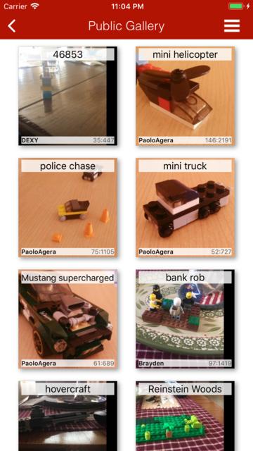 Mega Bricks: create cool toys screenshot 6
