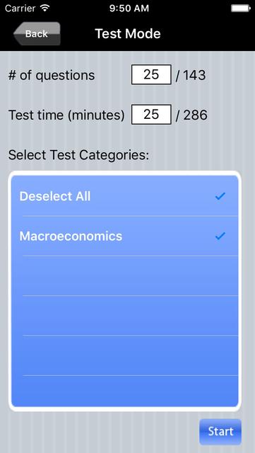 AP Macroeconomics Exam Prep screenshot 4