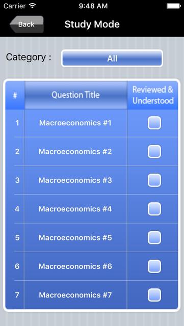 AP Macroeconomics Exam Prep screenshot 2