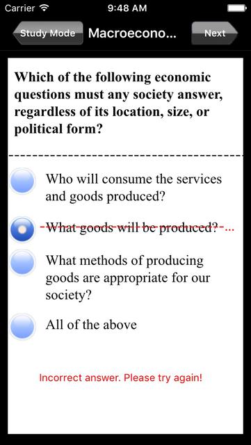AP Macroeconomics Exam Prep screenshot 3