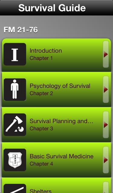 Survival Guide screenshot 1