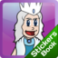 Snow Queen Stickers Book