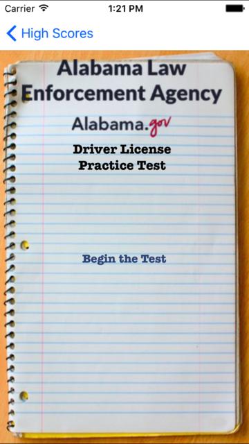 AL Driver Test screenshot 1