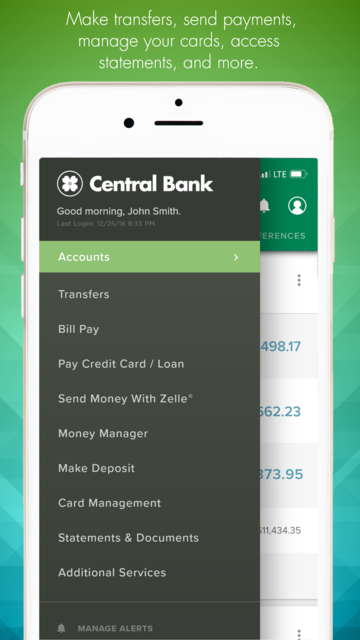 Central Bank - Mobile screenshot 12