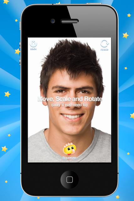 Squeeze it: Face Deformer screenshot 2