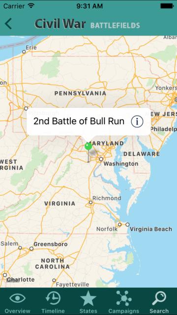 Civil War Battlefields screenshot 3