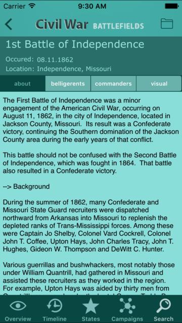Civil War Battlefields screenshot 5