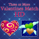 Icon for Three or More: Valentines Match HD