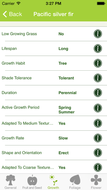 Plants Pedia: North America Trees & Flowers Scientific Reference screenshot 2
