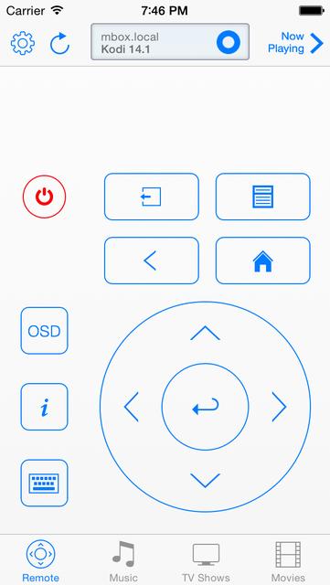 Remote Control for Kodi screenshot 10
