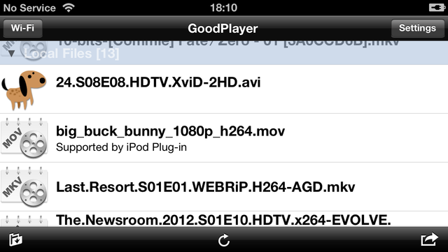 GoodPlayer screenshot 5