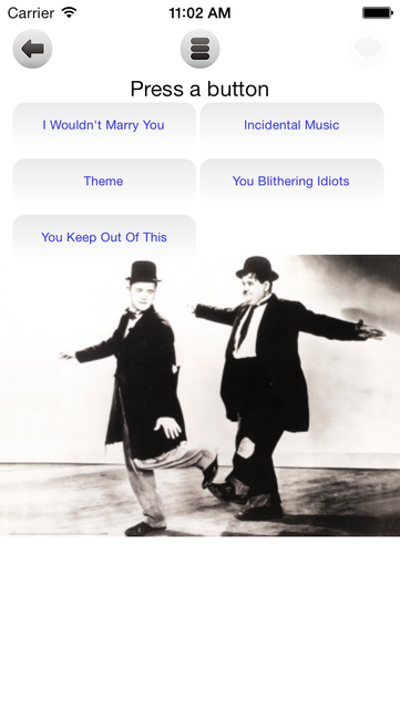 Laurel And Hardy Sound Board screenshot 4