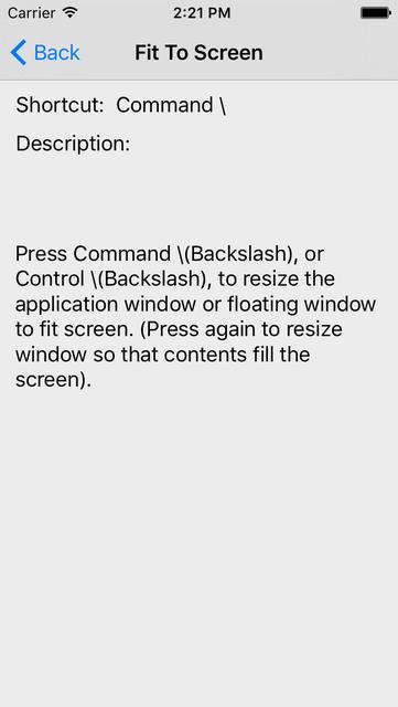Shortcut: After Effects Edition screenshot 3
