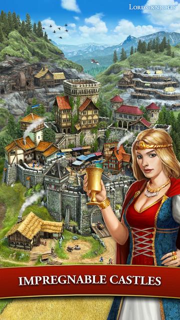 Lords & Knights - Mobile Kings screenshot 9