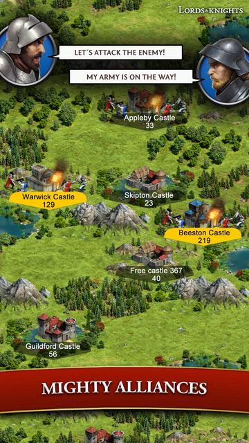 Lords & Knights - Mobile Kings screenshot 10