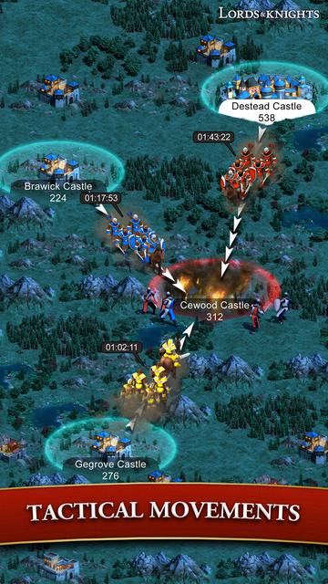 Lords & Knights - Mobile Kings screenshot 14