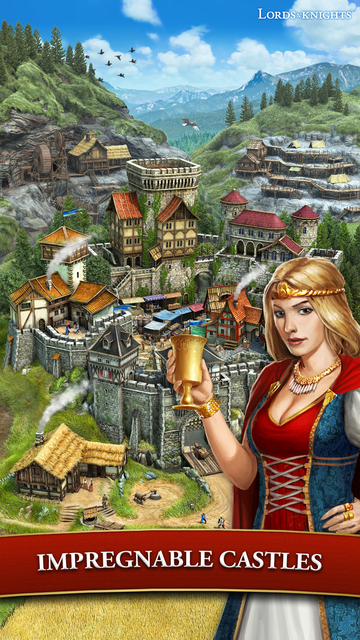 Lords & Knights - Mobile Kings screenshot 21