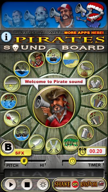 Pirate Sound Board screenshot 7