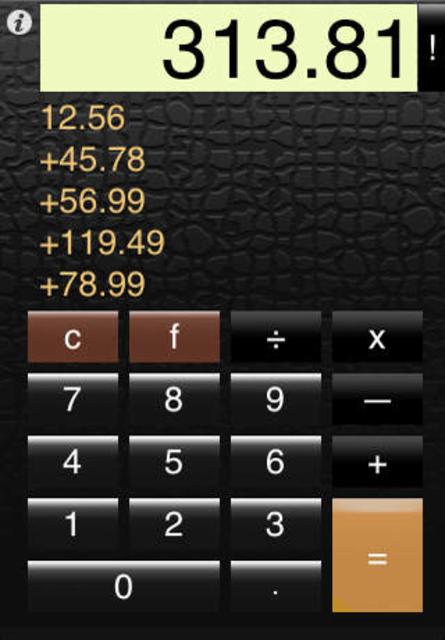 Calc Pro Free screenshot 2