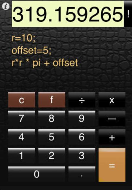 Calc Pro Free screenshot 4