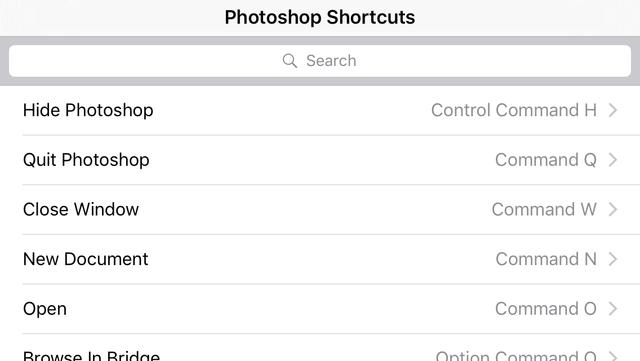 Shortcut: Photoshop Edition screenshot 4